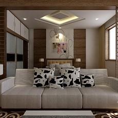 东南亚豪华卧室设计