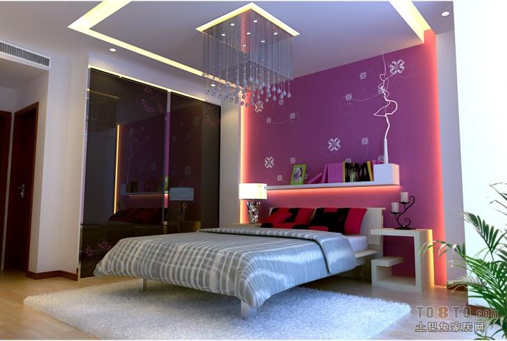 现代卧室设计家装