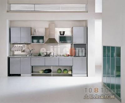 2013别墅开放式厨房装修效果图