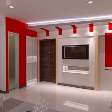 精美混搭3室客厅装修设计效果图片大全94平