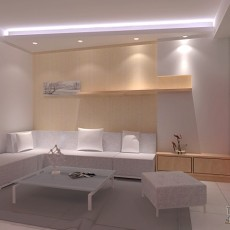 热门92平米三居客厅混搭装修欣赏图