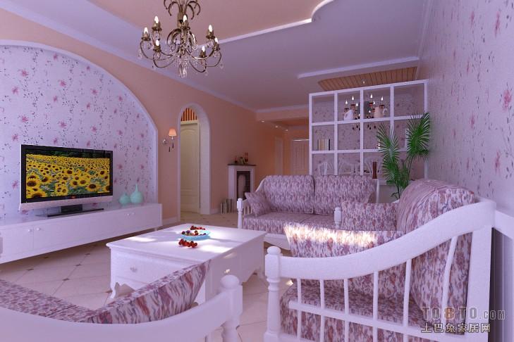 新古典风格小卧室装饰设计效果图