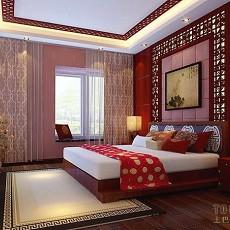 热门大小101平混搭三居卧室装修设计效果图片大全