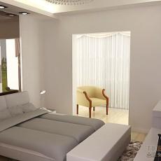 现代简约卧室装修效果图2013
