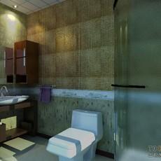 欧式卫生间浴室效果图