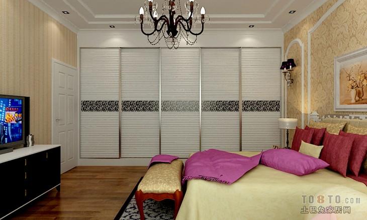 现代精简卧室装修展示