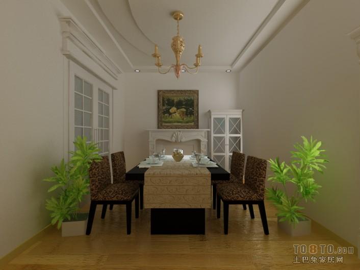 新中式雅致卧室设计效果图