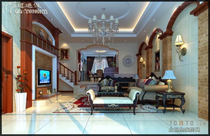 现代舒适客厅装修图片欣赏