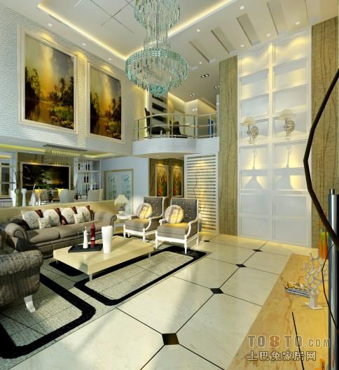 时尚设计中式客厅图片
