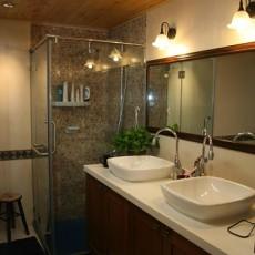 热门128平方现代别墅卫生间装修欣赏图片大全