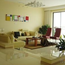 精美105平米三居客厅混搭效果图片欣赏
