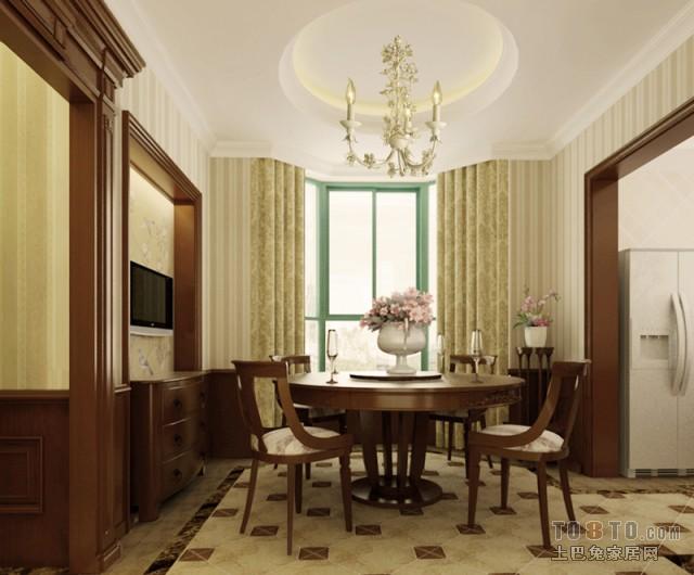 现代简约餐厅装潢案例