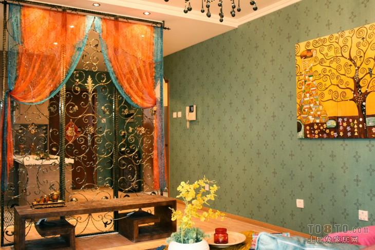 热门83平米混搭小户型客厅装修图片