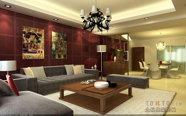 温润清新一居室设计