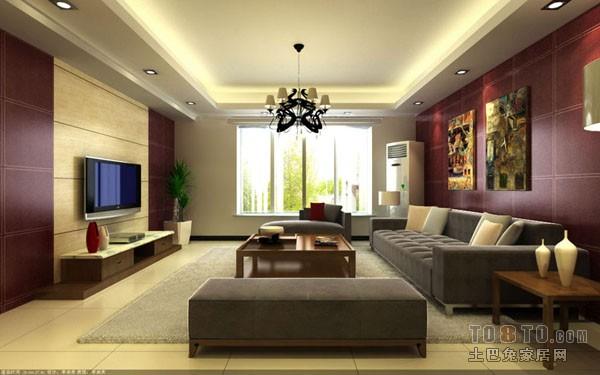 温润清新客厅设计