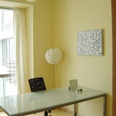 精美面积104平混搭三居书房装修实景图片