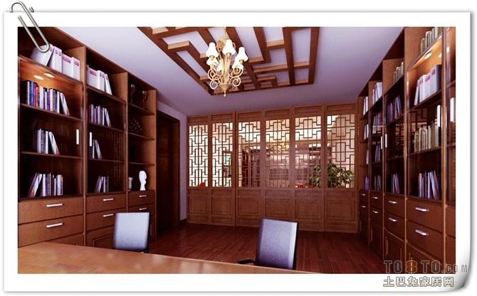 北欧风格小书房装修典例