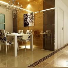 精美79平米二居客厅混搭装修设计效果图片欣赏