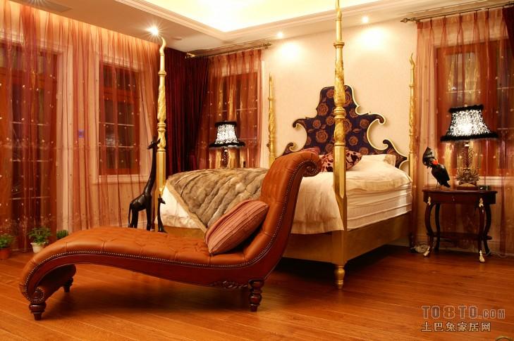 新中式卧室设计图片