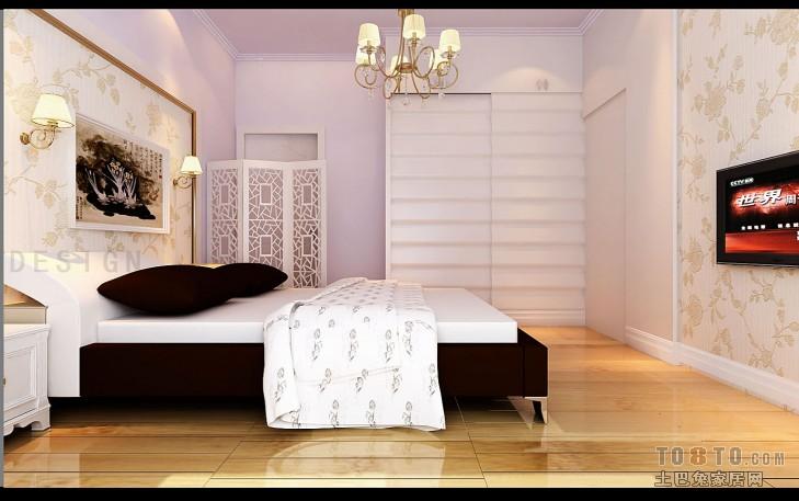 田园雅致卧室装修图片