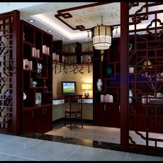 欧式书房设计图片