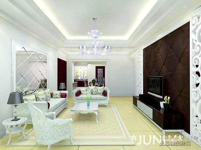 素雅欧式客厅设计