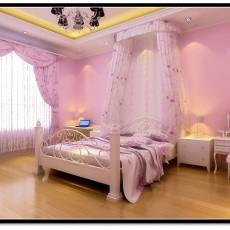 2013欧式卧室壁纸装修效果图