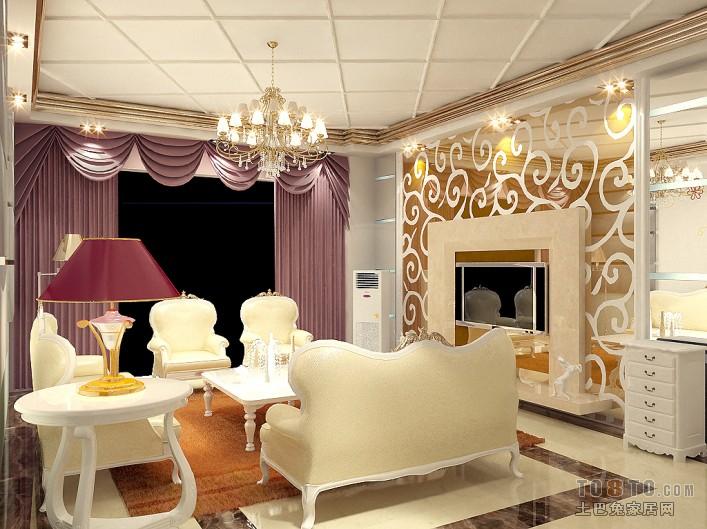 现代温馨舒适客厅装修