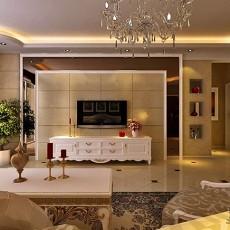 古典中式客厅装潢效果图