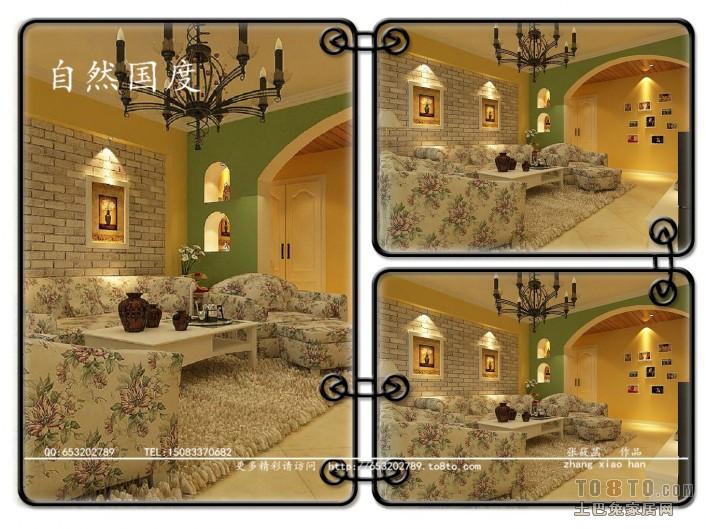 古典中式别墅玄关装修效果图