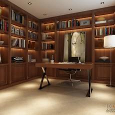 精美三居书房中式装修效果图片大全