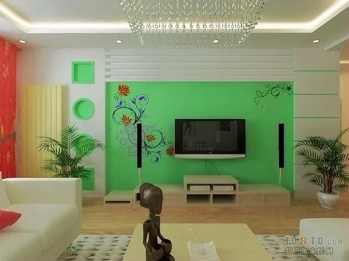北欧风格设计室内客厅效果图片