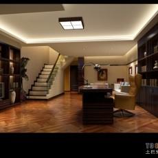 现代简约小书房装修效果图大全2013图片