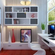 精美大小104平混搭三居书房欣赏图片