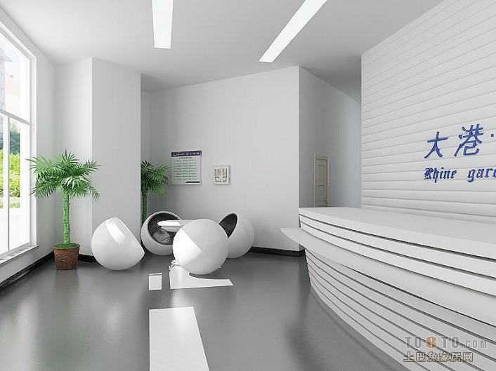 现代感前卫时尚的吧台设计