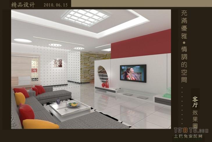 美式家装卧室图