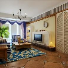 热门东南亚三居客厅实景图片大全