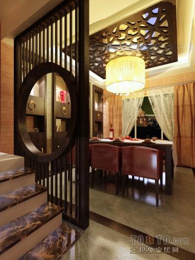 创意现代风格餐厅装饰效果图
