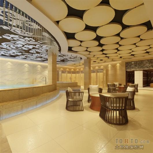 欧式古典复式家装设计效果图片