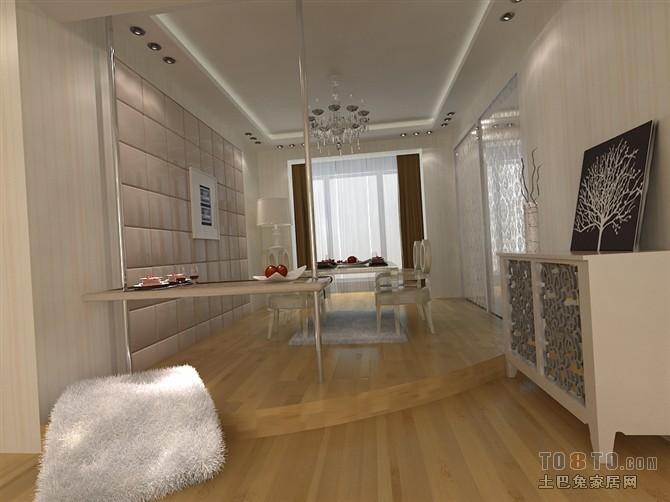 美式简约卧室装修设计效果图