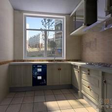 热门面积93平混搭三居厨房装修设计效果图