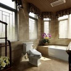 小型卫生间瓷砖效果图