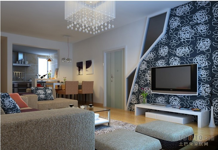 精选美式别墅餐厅室内效果图片