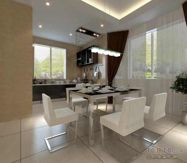 简约风格家居餐厅室内装修效果图