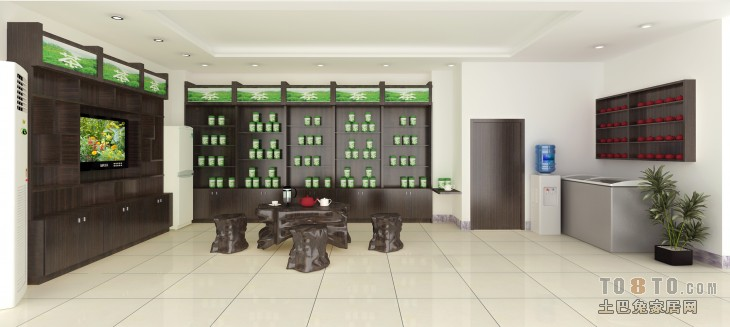 欧式古典三居室装修效果图