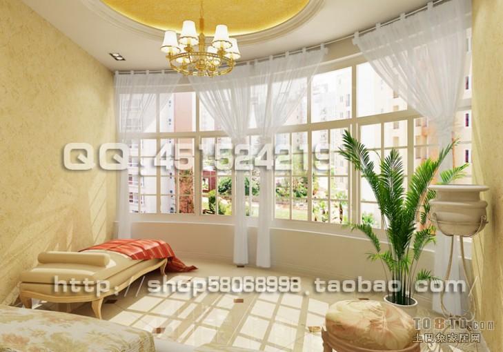 宜家清新自然二居室装修效果图