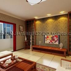 精美漂亮的客厅背景墙效果图