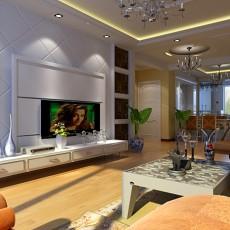热门欧式二居休闲区装修实景图片