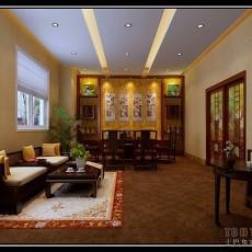 热门107平米3室客厅混搭装修欣赏图片大全