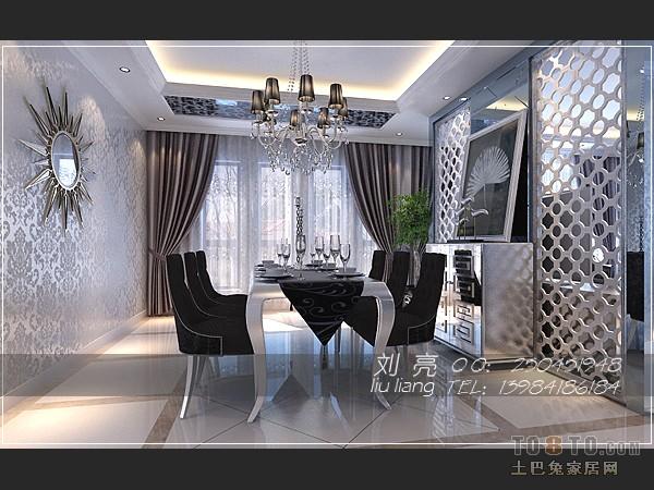 现代家居厨房狭长装修